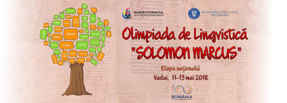 Olimpiada de Lingvistica - Etapa Nationala